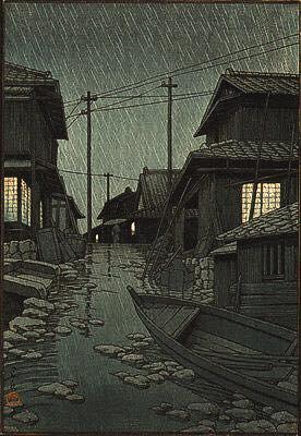 Tranh cổ mộc bản Nhật