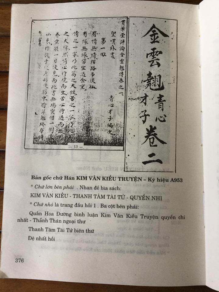 Bìa quyển 2 KVK -Thanh Tâm Tài Tử - 1884 khi Tự Đức mất