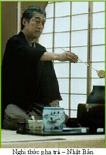 Nghi thức pha trà Nhật